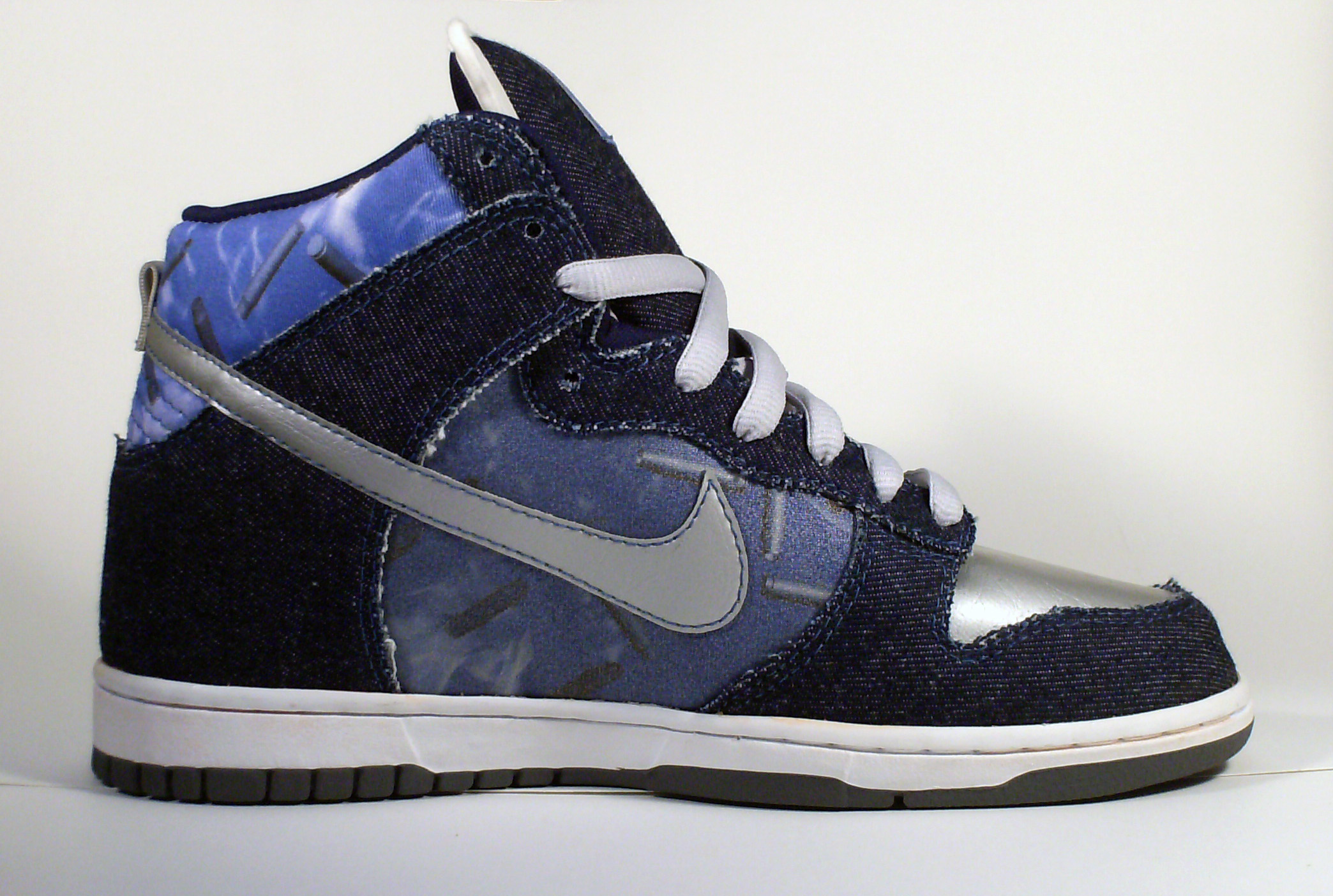 super cute b72ae 44127 ... wholesale 32 nike dunk high reflective blue silver sharp020 ed3e1 c543c